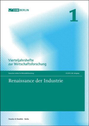 Cover Renaissance der Industrie (VJH 1/2015 )