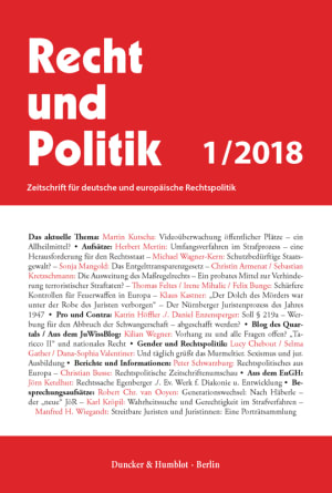 Cover RuP 1/2018