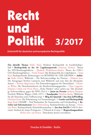 Cover RuP 3/2017