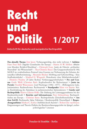 Cover RuP 1/2017