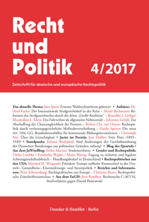 Cover RuP 4/2017
