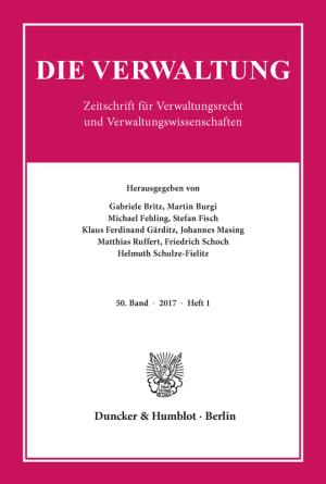 Cover VERW 1/2017