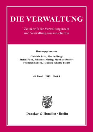Cover VERW 4/2015
