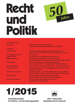 Cover RuP 1/2015