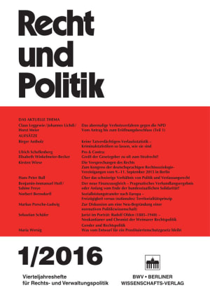 Cover RuP 1/2016