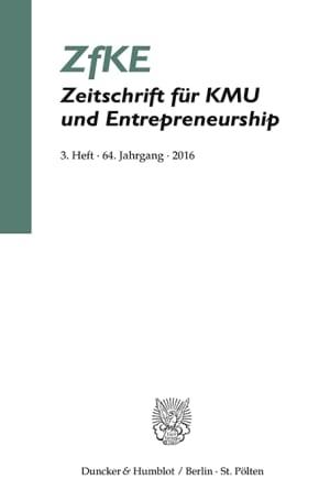 Cover ZfKE 3/2016
