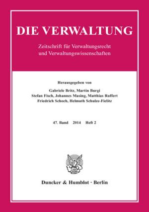 Cover VERW 2/2014