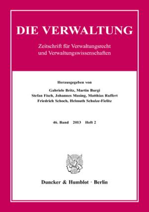 Cover VERW 2/2013