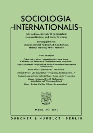 Cover SOCINT 1/2011