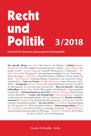 Cover RuP 3/2018