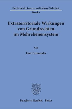Cover Extraterritoriale Wirkungen von Grundrechten im Mehrebenensystem