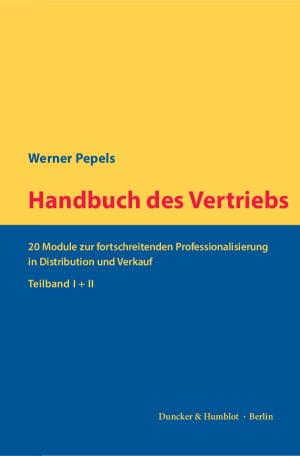 Cover Handbuch des Vertriebs