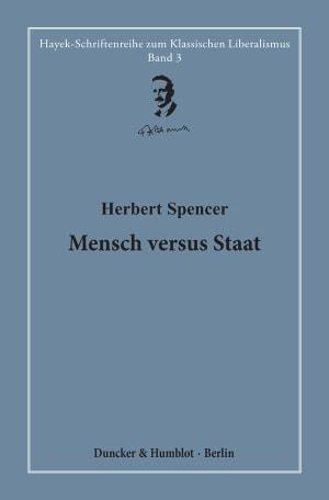 Cover Mensch versus Staat