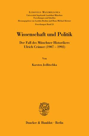 Cover Ludovico Maximilianea. Forschungen (LMF)