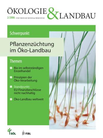 Pflanzenzüchtung im Öko-Landbau