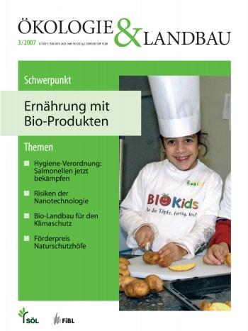 Ernährung mit Bio-Produkten