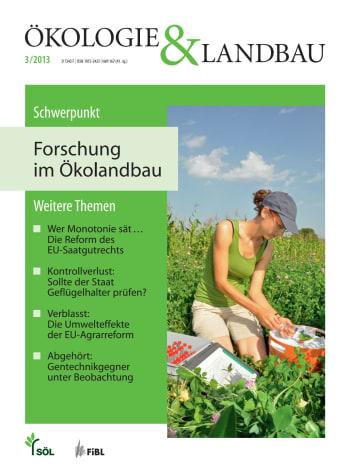 Forschung im Ökolandbau