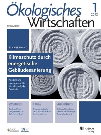 Klimaschutz durch energetische Gebäudesanierung