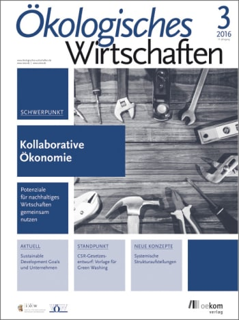 Kollaborative Ökonomie