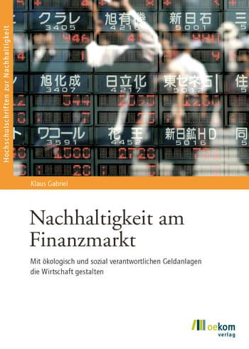 Nachhaltigkeit am Finanzmarkt