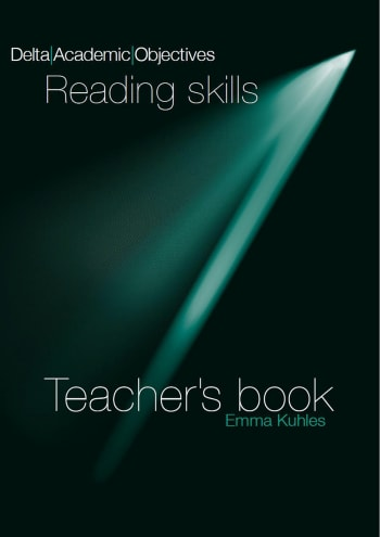 Cover Delta Academic Objectives - Reading Skills B2-C1 9783125013391