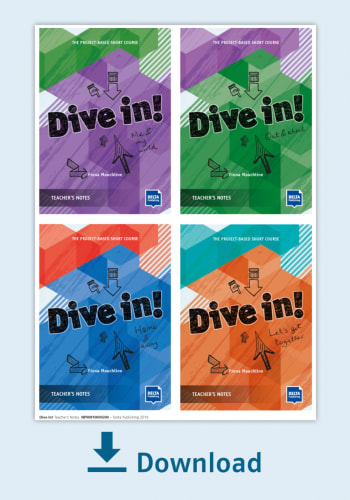 Cover Dive in! Teachers Notes - all 4 modules in one NP00810000300
