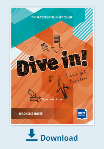 Cover Dive in! Teachers Notes - Lets get together NP00850130695