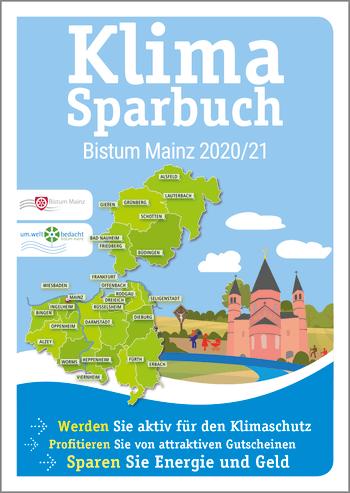 Klimasparbuch Bistum Mainz 2020/21