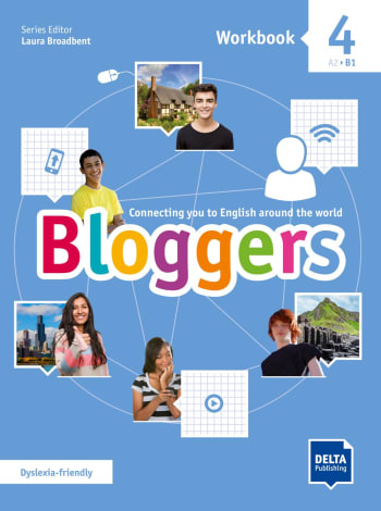 Cover Bloggers 4 A2 - B1 9783125012097