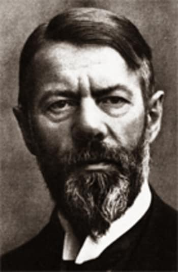 Image: Max Weber