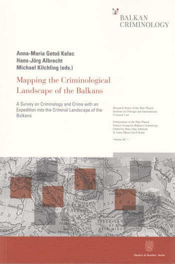 Cover: Mapping the Criminological Landscape of the Balkans