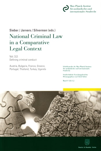 Cover: National Criminal Law in a Comparative Legal Context. Vol. 3.2