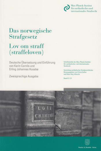 Cover: Das norwegische Strafgesetz / Lov om straff (straffeloven)