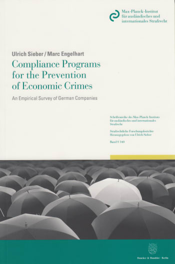 Cover: Compliance Programs for the Prevention of Economic Crimes
