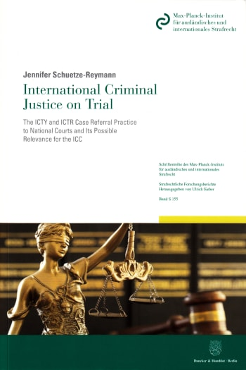Cover: International Criminal Justice on Trial