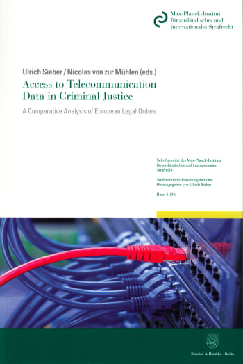 Cover: Access to Telecommunication Data in Criminal Justice