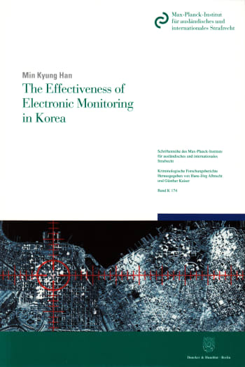 Cover: The Effectiveness of Electronic Monitoring in Korea