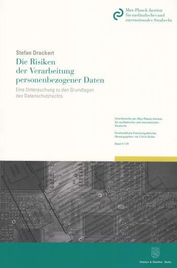 Cover: Die Risiken der Verarbeitung personenbezogener Daten