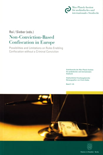 Cover: Non-Conviction-Based Confiscation in Europe