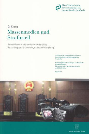 Cover: Massenmedien und Strafurteil