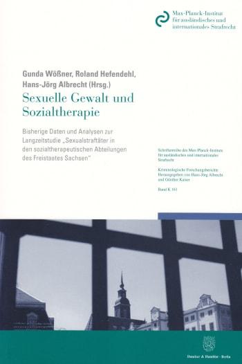 Cover: Sexuelle Gewalt und Sozialtherapie