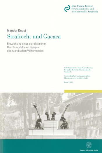 Cover: Strafrecht und Gacaca