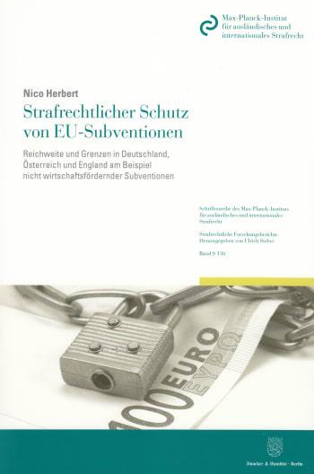 Cover: Strafrechtlicher Schutz von EU-Subventionen