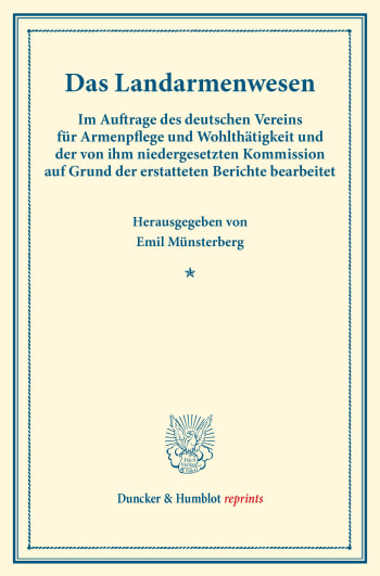 Cover: Das Landarmenwesen