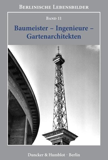 Cover: Baumeister – Ingenieure – Gartenarchitekten