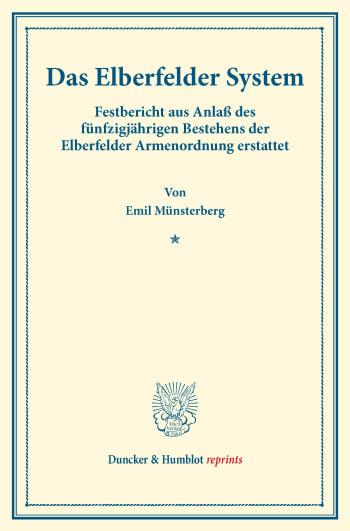Cover: Das Elberfelder System