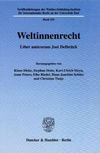 Cover: Weltinnenrecht