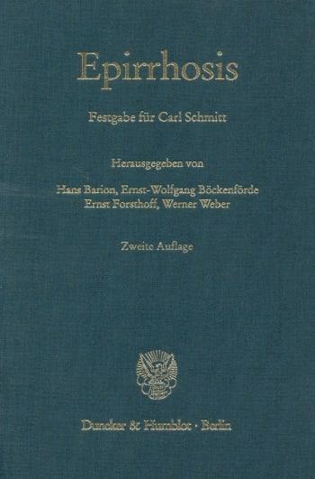 Cover: Epirrhosis