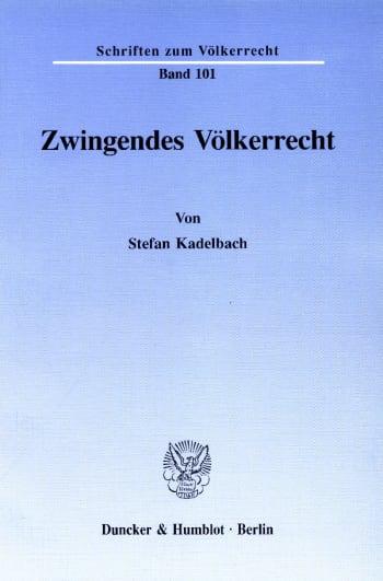 Cover: Zwingendes Völkerrecht