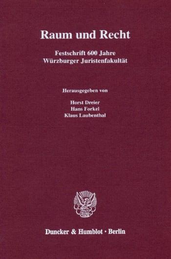Cover: Raum und Recht